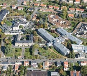 Vue aérienne résidences Mortagne/s